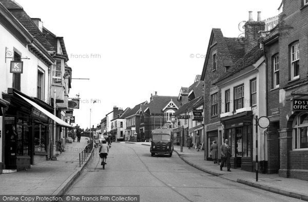Photo of Alton, Crown Hill c.1955