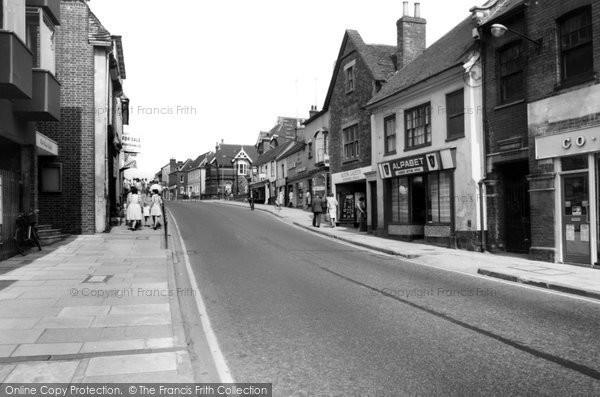 Alton, Crown Hill c.1965