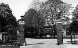 Entrance To Lord Mayor Treloar Hospital c.1955, Alton