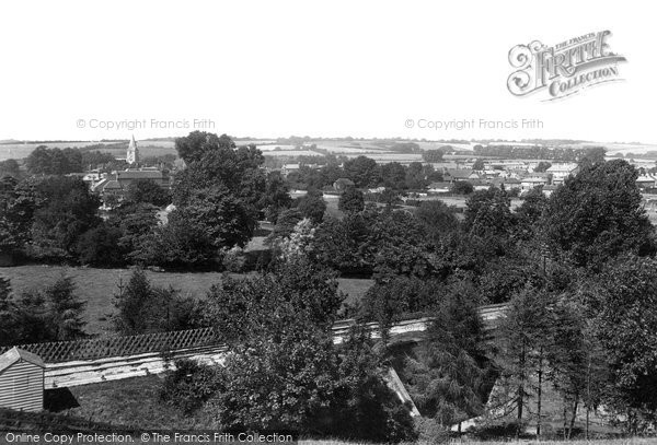 Photo of Alton, From Windmill Hill 1898