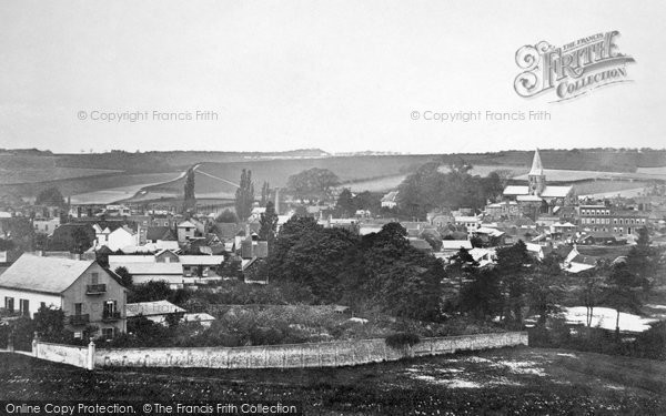 Photo of Alton, From Windmill Hill c.1880