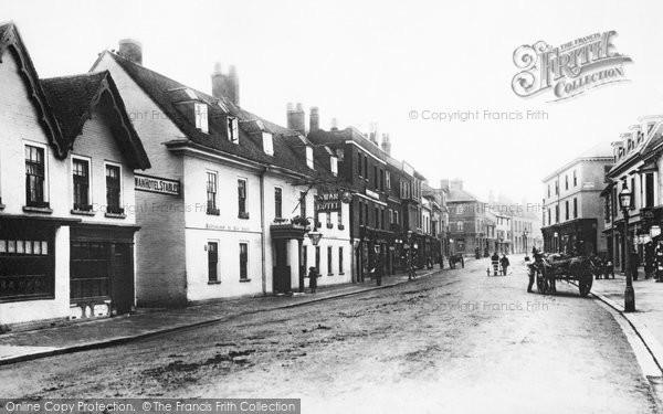 Photo of Alton, High Street 1897