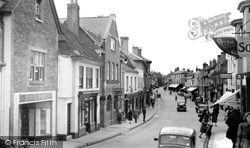 High Street c.1955, Alton