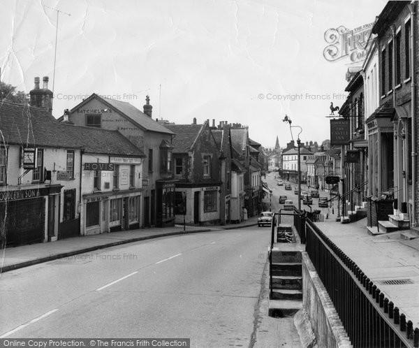 Photo of Alton, High Street c.1955
