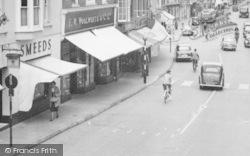 High Street Traffic c.1955, Alton