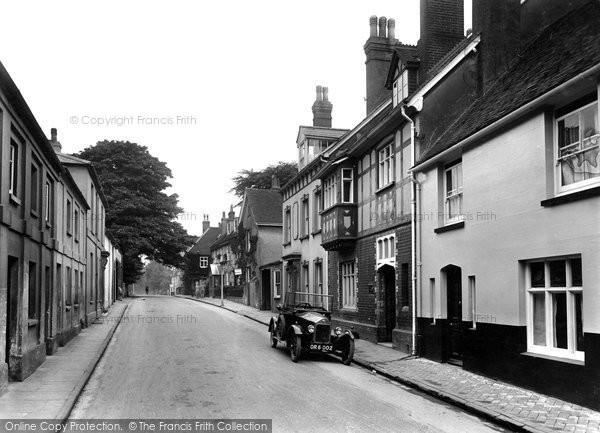 Alton, Lenten Street 1928
