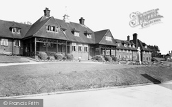Alton, Lord Mayor Treloar Hospital, Nurses Home c.1955