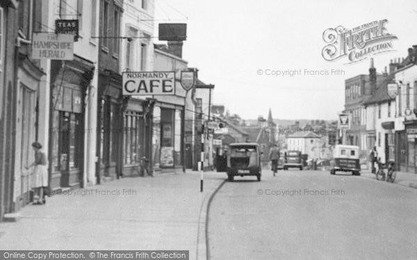Photo of Alton, Normandy Street c.1955