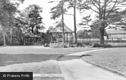 Alton, Public Gardens c.1955