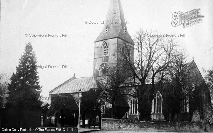 Photo of Alton, St Lawrence's Church 1897