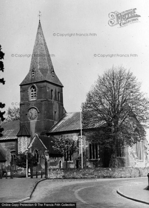 Photo of Alton, St Lawrence's Church c.1955