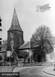 Alton, St Lawrence's Church c.1955
