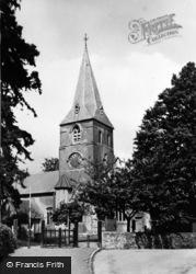 St Lawrence's Church c.1955, Alton
