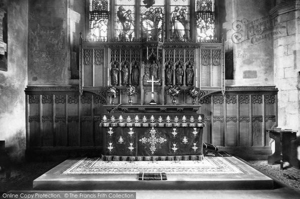 Alton, St Lawrence's Church, Reredos 1898