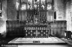 St Lawrence's Church, Reredos 1898, Alton