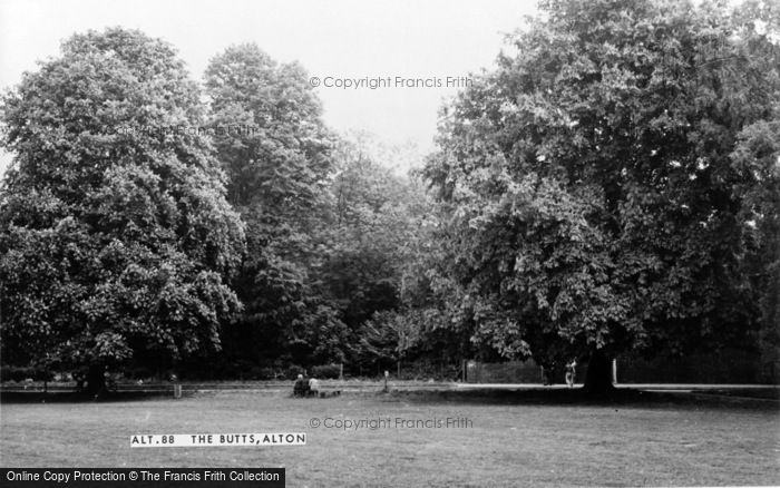 Photo of Alton, The Butts c.1960