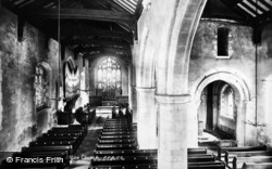 Alton, The Church Interior 1898