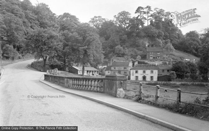 Photo of Alton, The Ideal Cafe And Lower Village c.1955