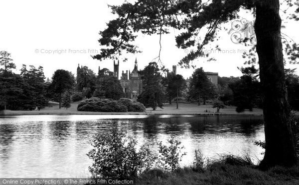 Photo of Alton Towers, And The Boating Lake c.1955