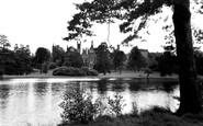 Alton Towers, And The Boating Lake c.1955