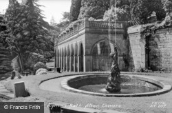 Colonnade And Roman Bath c.1955, Alton Towers