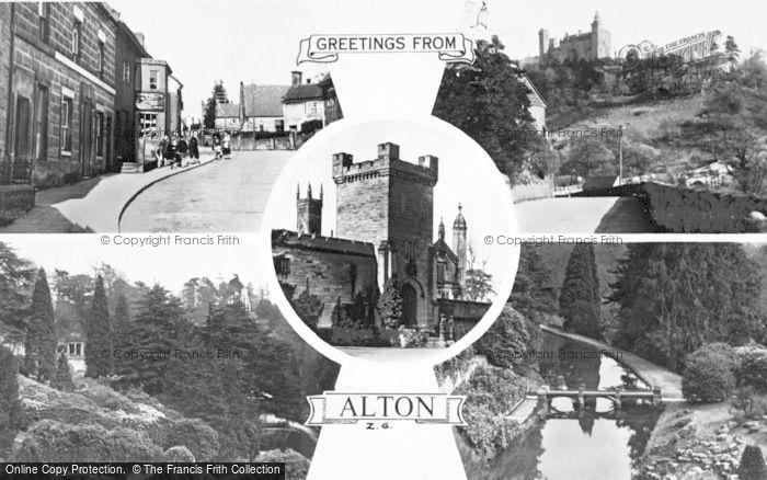 Photo of Alton Towers, Composite c.1950
