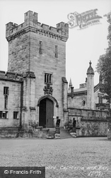 Entrance To Towers Cafeteria And Bar c.1955, Alton Towers