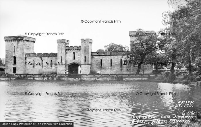 Photo of Alton Towers, Ingestre Tea Rooms And Bar c.1955