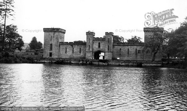 Photo of Alton Towers, Lake And Hall c.1955