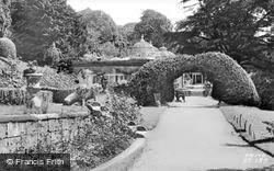 Part Of The Gardens c.1955, Alton Towers