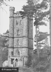 The Flag Tower c.1950, Alton Towers