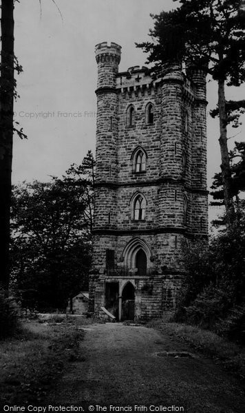Alton Towers, The Flag Tower c.1955