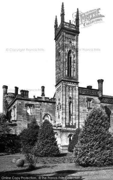 Photo of Alton Towers, The Gothic Tower c.1955