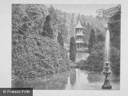 The Pagoda And Fountain c.1865, Alton Towers
