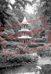 The Pagoda Fountain c.1955, Alton Towers