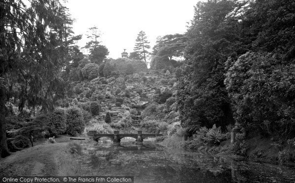 Alton Towers, The Rock Gardens And Cascade 1952