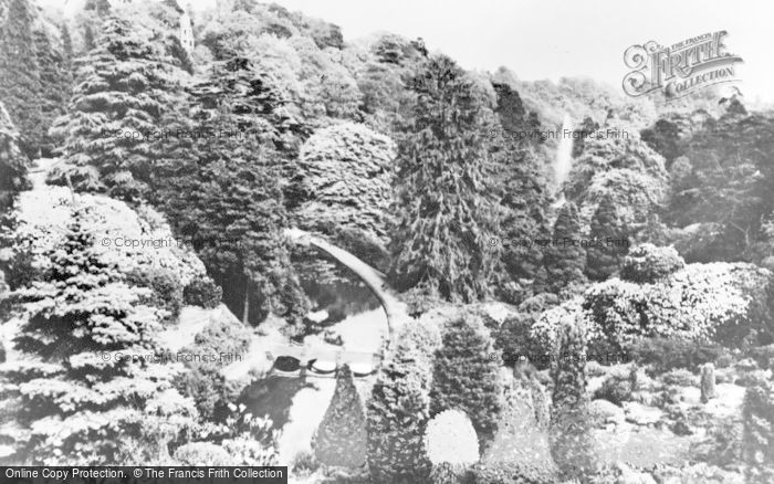 Photo of Alton Towers, View From The Cascades c.1950