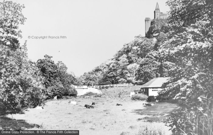 Photo of Alton, View From Dimmersdale Road c.1955
