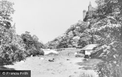Alton, View From Dimmersdale Road c.1955