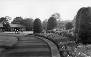 Altrincham, Bowling Green, Stamford Park c.1960