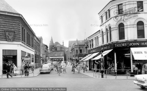 Photo of Altrincham, Cross Street c1955