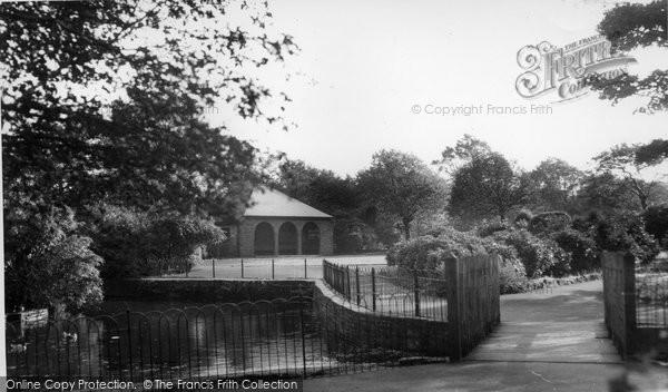 Altrincham, Duck Pond, Stamford Park c.1960