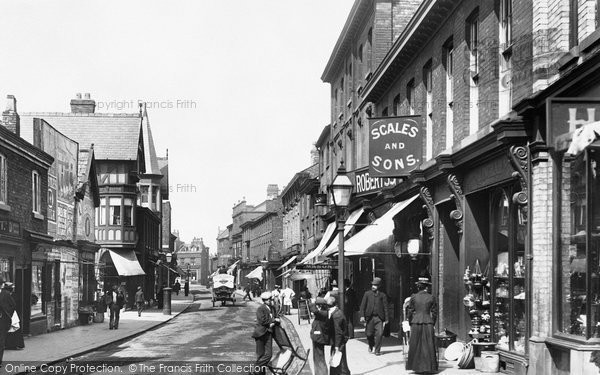 Photo of Altrincham, George Street 1900