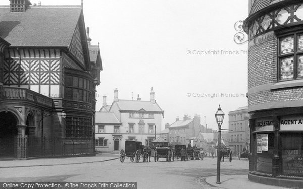 Photo of Altrincham, Market Place 1897