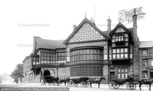 Photo of Altrincham, Old Bank 1897