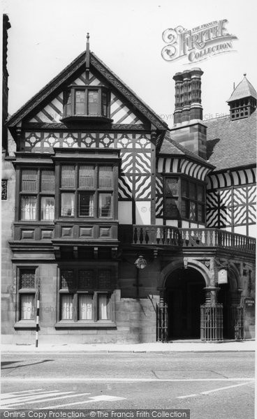 Photo of Altrincham, Old Bank c.1960