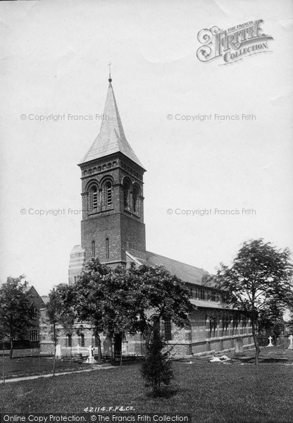 Altrincham, St George's Church 1898