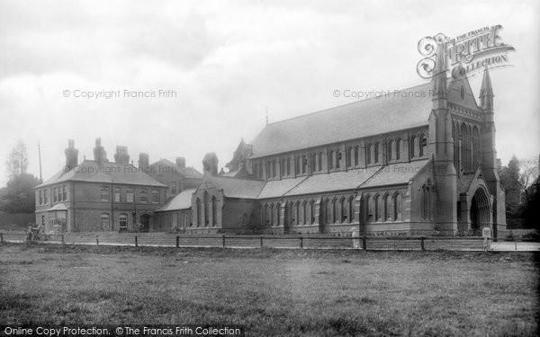 Photo of Altrincham, St Vincent's Church 1906
