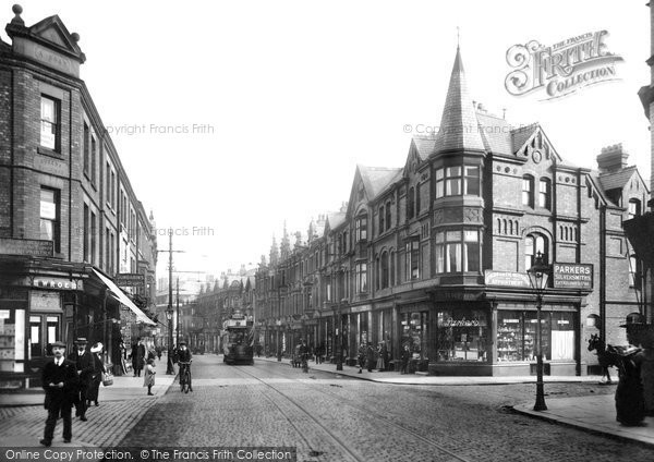 Photo of Altrincham, Stamford New Road 1913