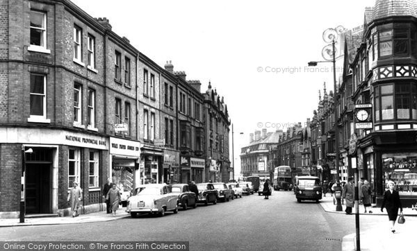 Photo of Altrincham, Stamford New Road c.1955